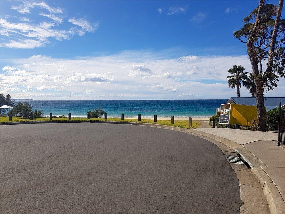 Mollymook Surf Life Saving Club View